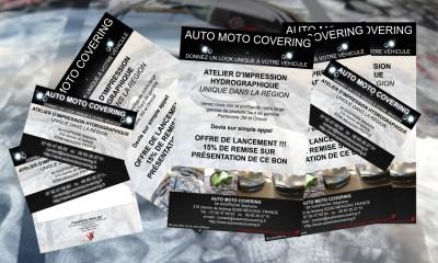 apercu flyers et cartes visite amc Vitrine @rt'