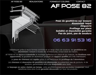 apercu site afpose82 Vitrine @rt'